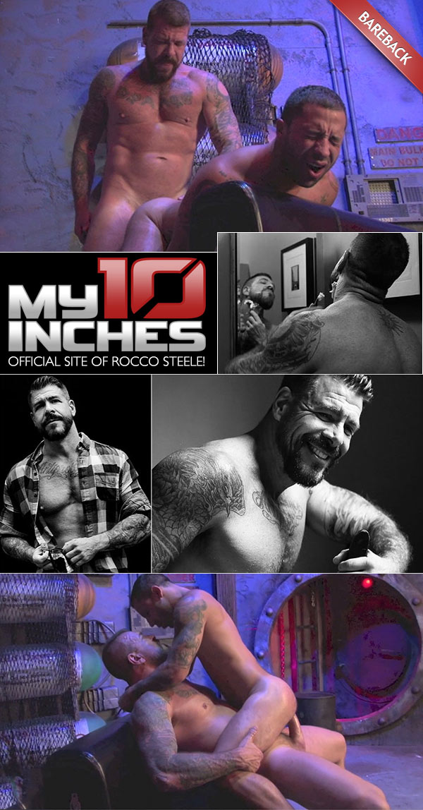 Rocco Steele Fucks Nick Cross at My 10 Inches