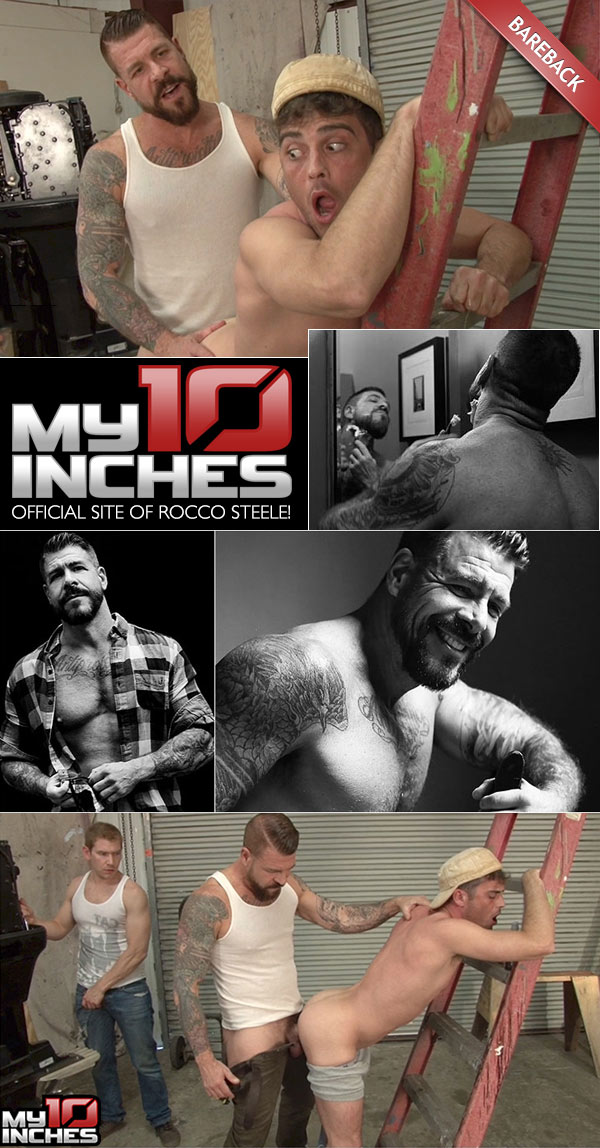 Rocco Steele Fucks Alex Adams and Lance Hart at My 10 Inches