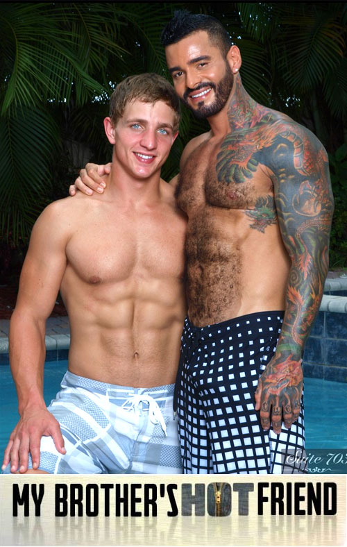 Alexsander Freitas & Landon Mycles at My Brother's Hot Friend