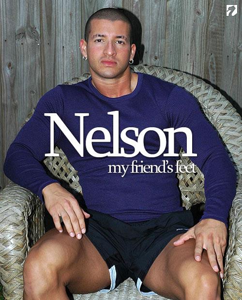 Bodybuilder Nelson at My Friend's Feet