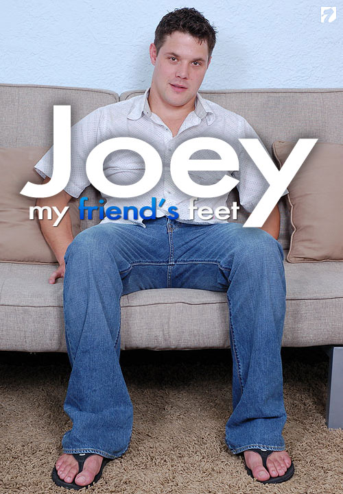 Joey at My Friend's Feet