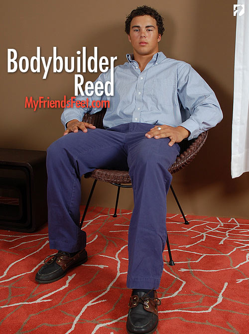 Bodybuilder Reed at My Friend's Feet