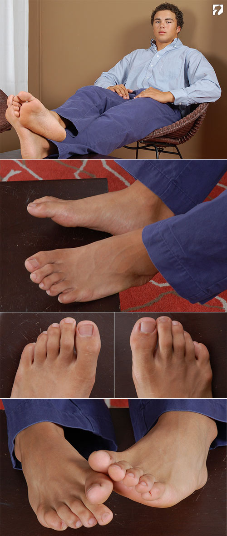 Bodybuilder Reed at My Friend's Feet