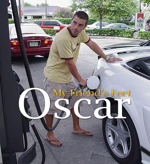 Oscar at My Friend's Feet