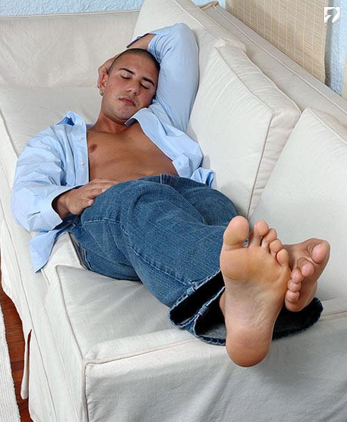 Santos at My Friend's Feet