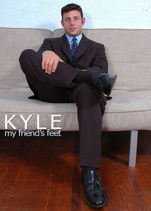 Kyle at My Friend's Feet