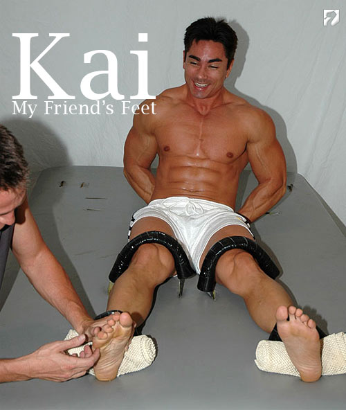 Kai Tickled at My Friend's Feet