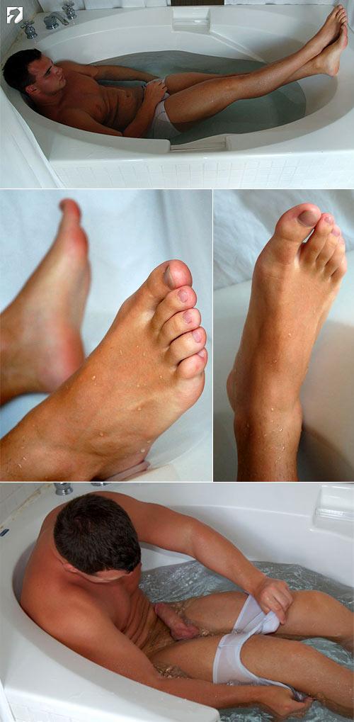Jon's Size 13's at My Friend's Feet