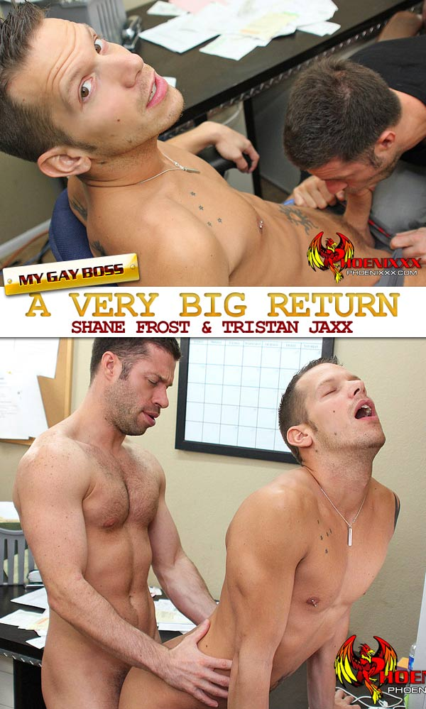 Shane Frost & Tristan Jaxx (A Very Big Return) at My Gay Boss