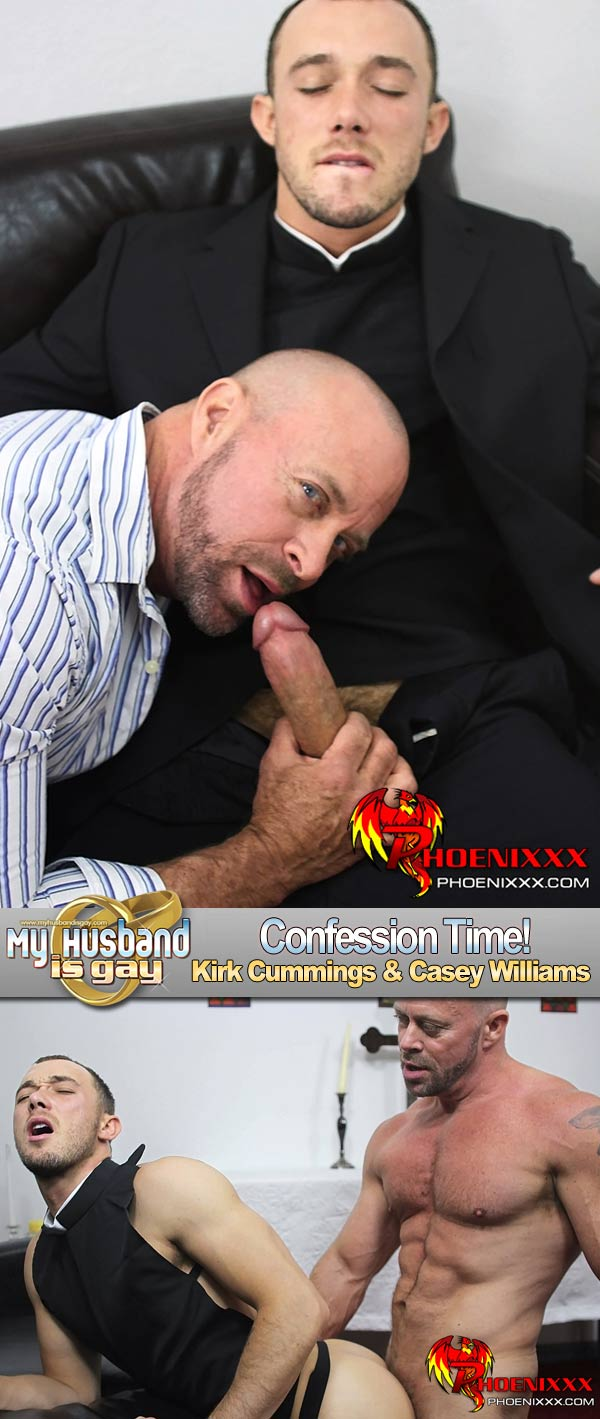 Kirk Cummings & Casey Williams at My Husband Is Gay