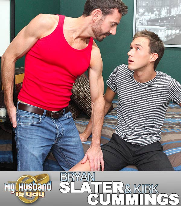 Bryan Slater & Kirk Cummings at My Husband Is Gay