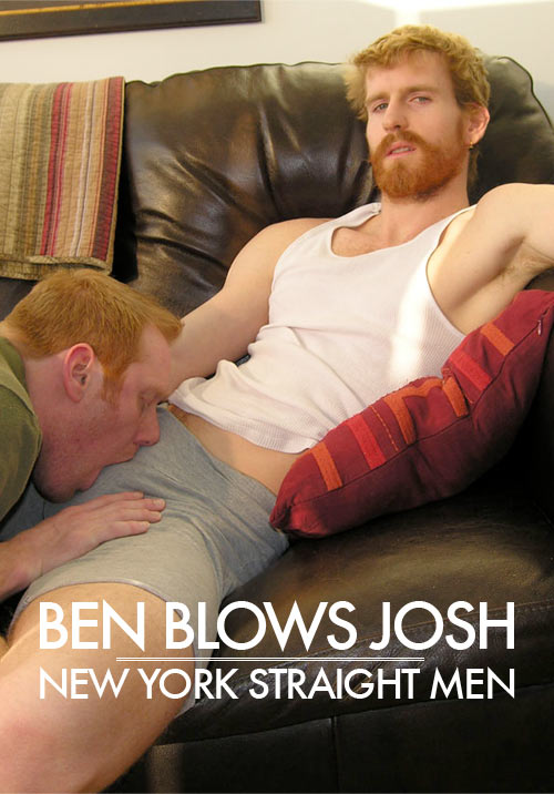 Ben Blows Josh at New York Straight Men