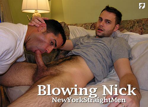 Blowing Nick at New York Straight Men