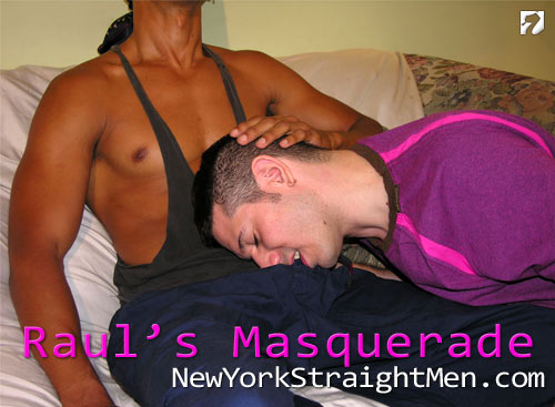 Raul's Masquerade at New York Straight Men