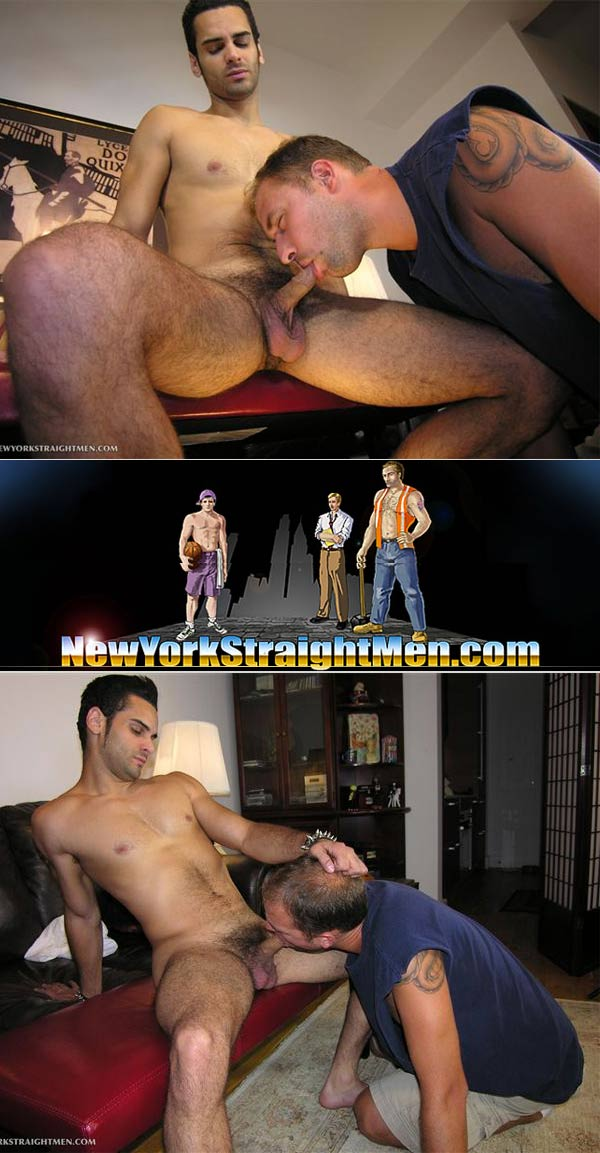 Trey Sucks Ryder's Cock at New York Straight Men