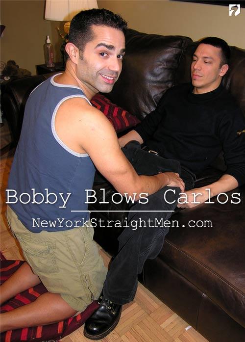 Bobby Blows Carlos at New York Straight Men