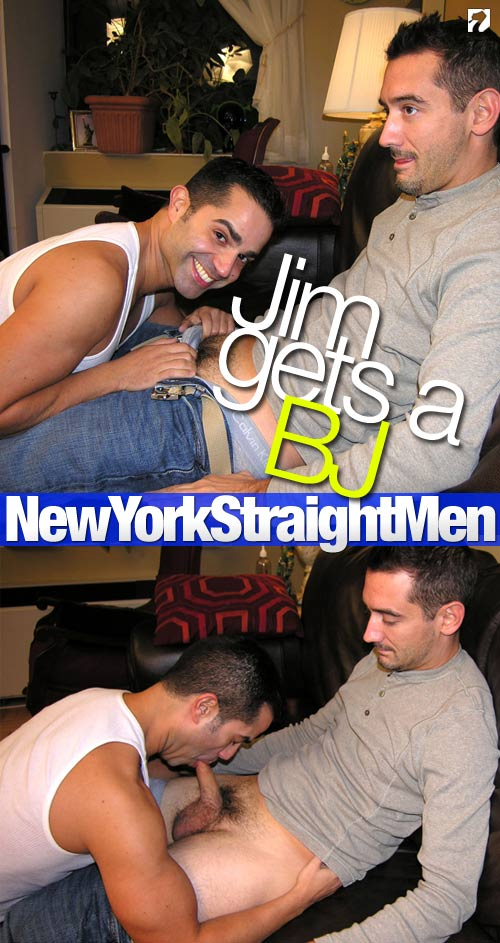 Jim Gets A BJ at New York Straight Men