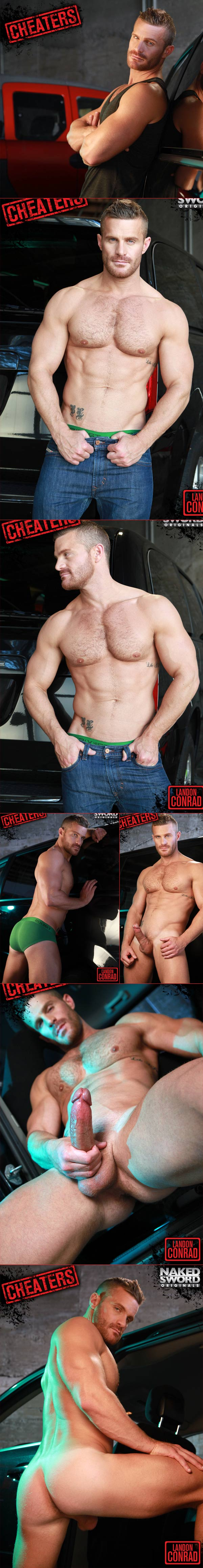 Cheaters Episode 4: Payback's A Bitch (Angel Rock & Landon Conrad) at NakedSword