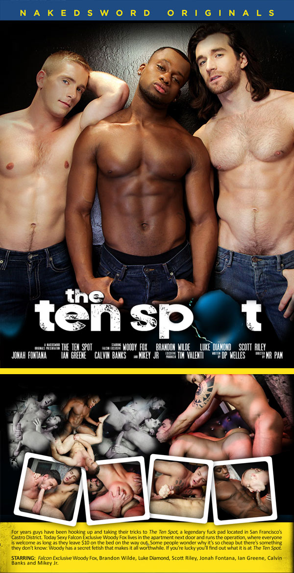 The Ten Spot (Woody Fox, Scott Riley And Luke Diamond) (Episode 4) at NakedSword