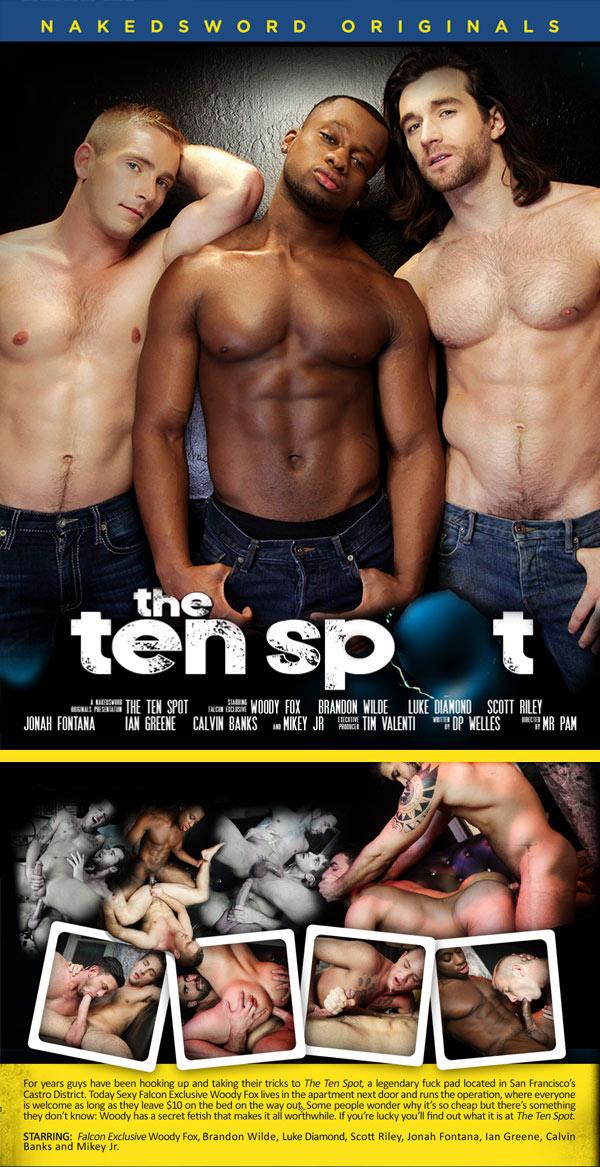 The Ten Spot (Woody Fox, Scott Riley And Luke Diamond) (Episode 4) at NakedSword