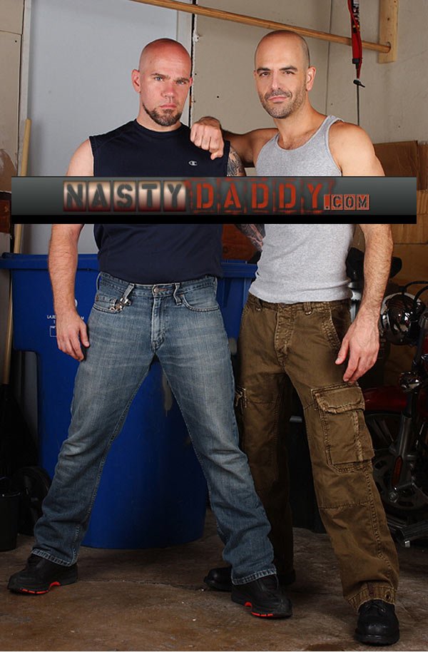 Adam Russo & Jasun Mark at NastyDaddy
