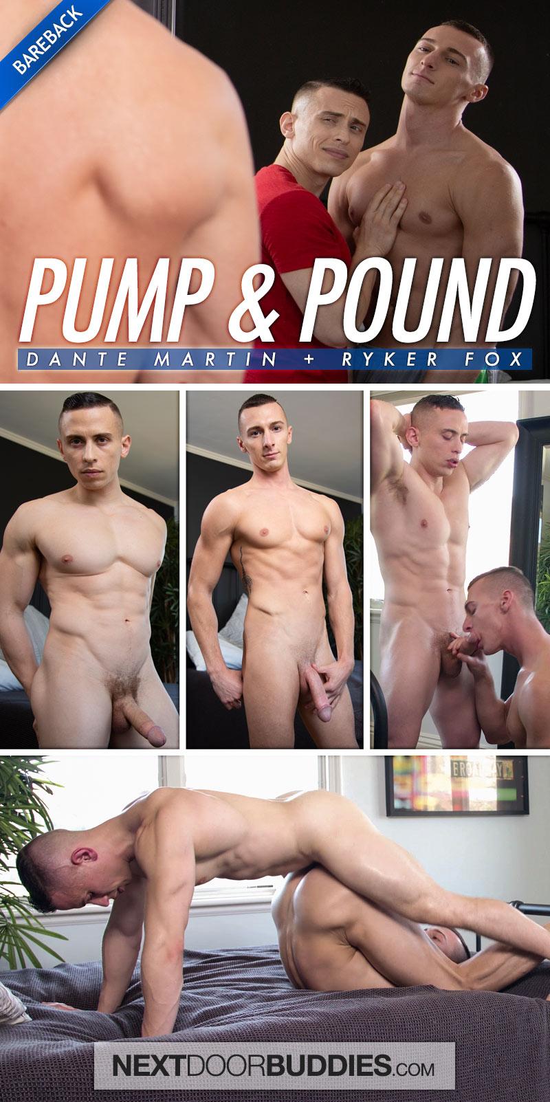 Pump & Pound (Dante Martin Fucks Ryker Fox) (Bareback) at Next Door Buddies