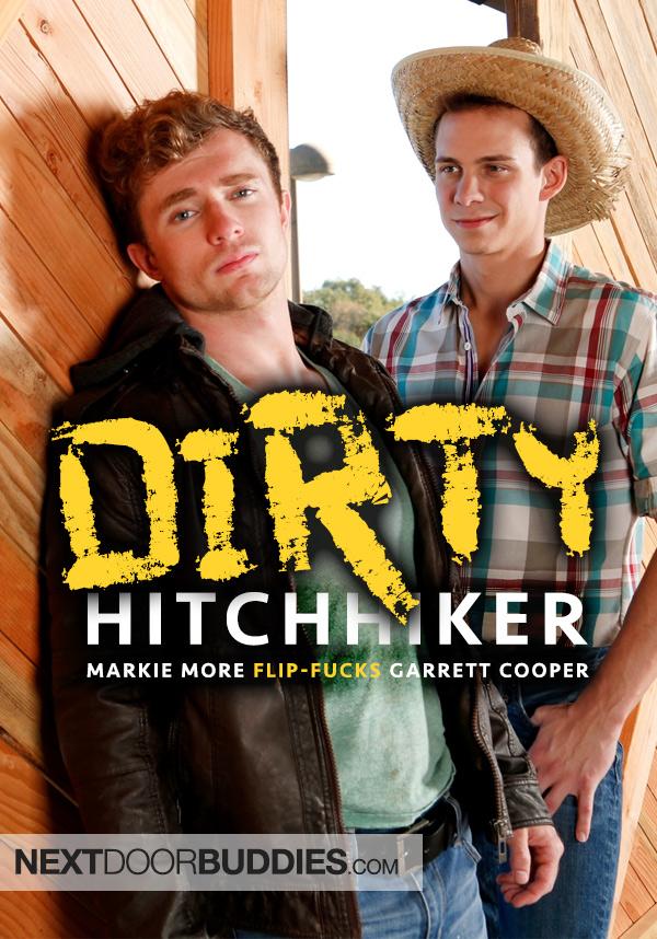 Dirty Hitchhiker (Markie More Flip-Fucks Garrett Cooper) at Next Door Buddies