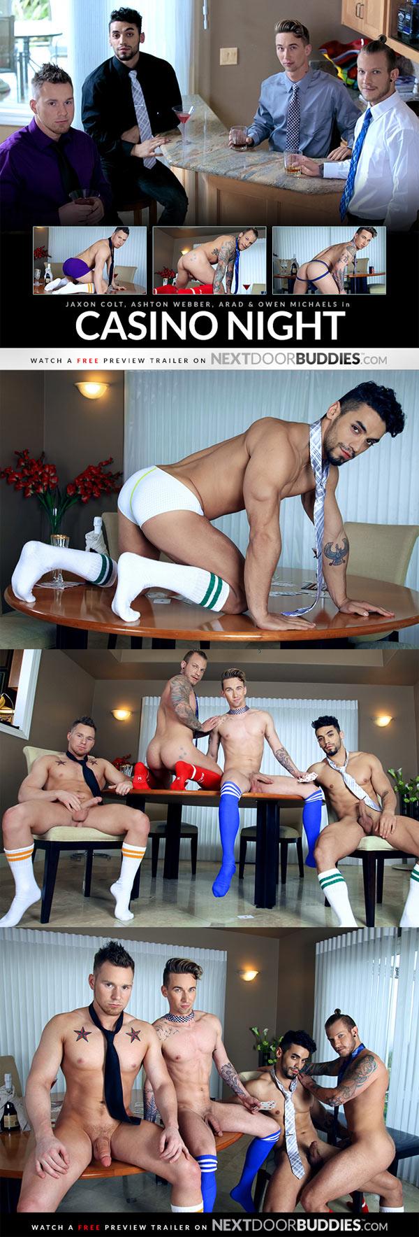 Casino Night (Jaxon Colt, Ashton Webber, Arad & Owen Michaels) at Next Door Buddies