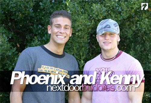Phoenix and Kenny at Next Door Buddies