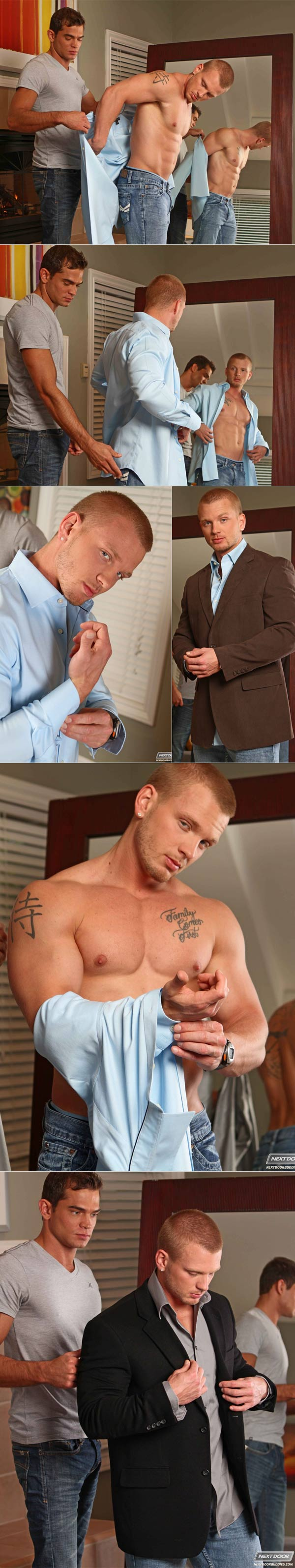 Tailored Fit (James Huntsman & Luke Milan) at Next Door Buddies