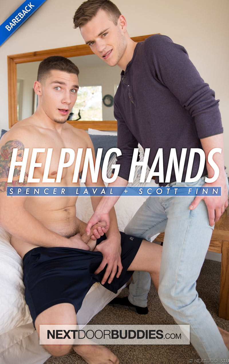 Helping Hands (Spencer Laval Fucks Scott Finn) at Next Door Buddies