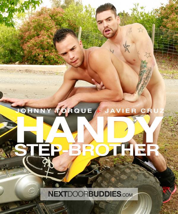 Handy Step Brother (Johnny Torque Fucks Javier Cruz) at Next Door Buddies
