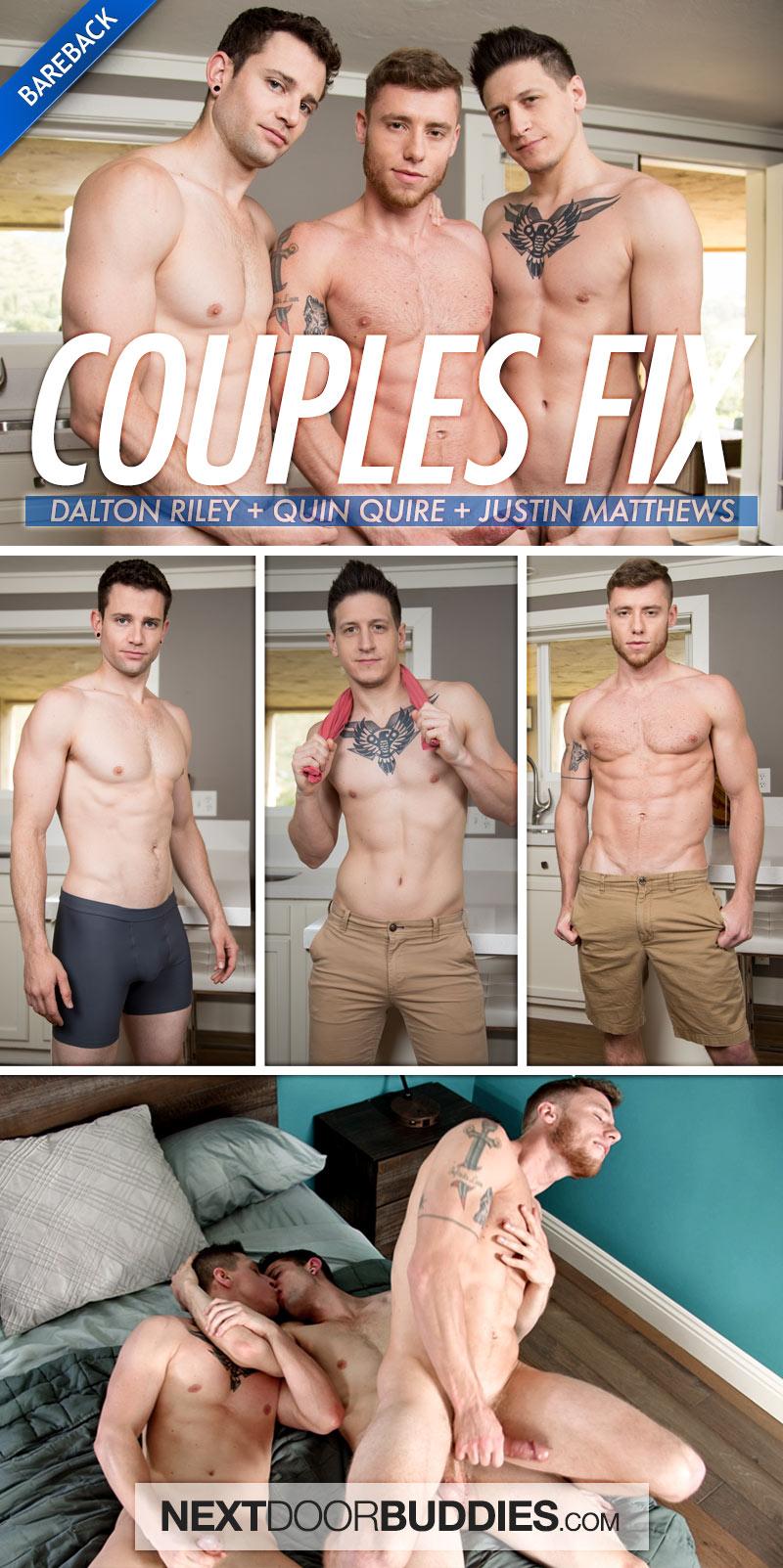 Couples Fix (Dalton Riley, Quin Quire and Justin Matthews) at Next Door Buddies