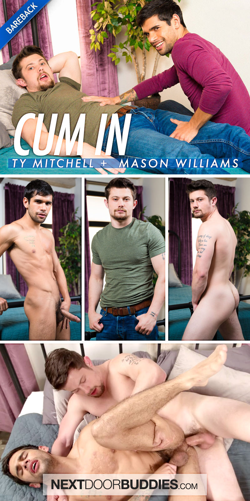 Cum In (Mason Williams Fucks Ty Mitchell) at Next Door Buddies