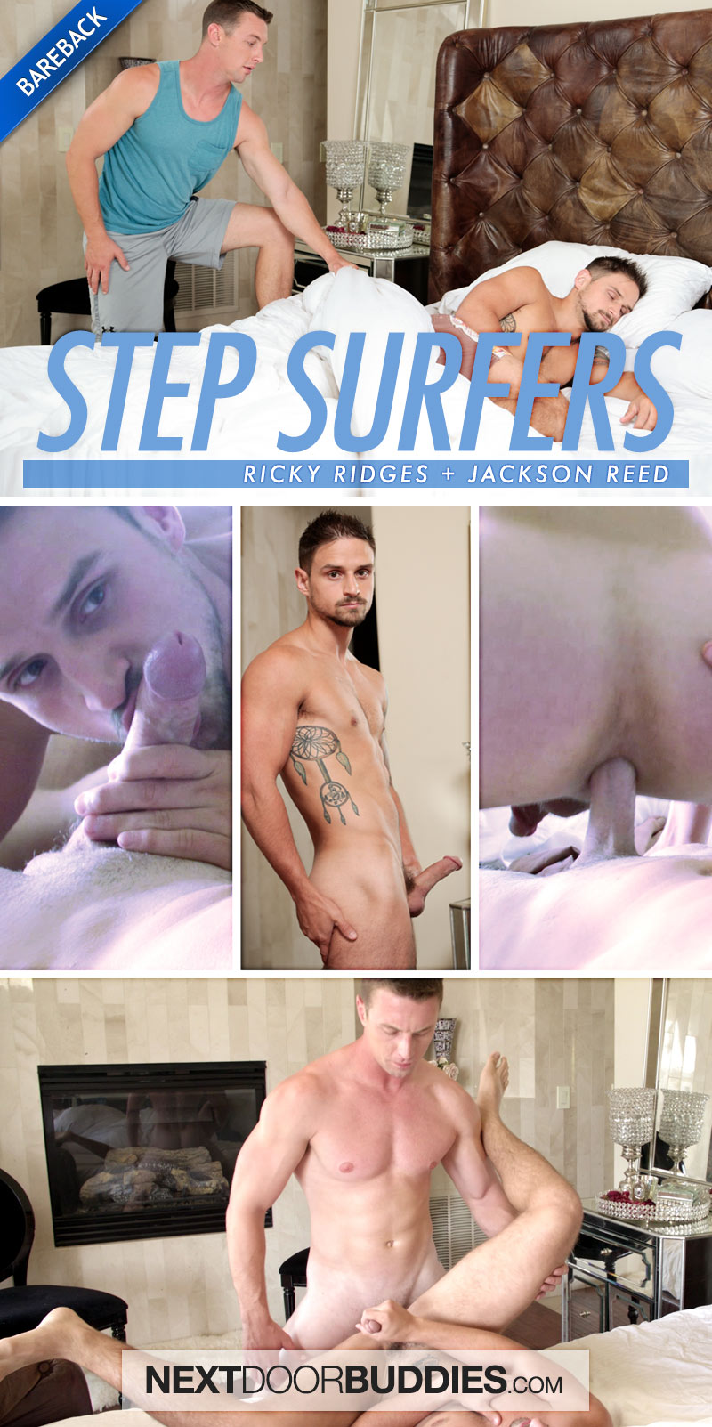 Step Surfers (Ricky Ridges Fucks Jackson Reed) at Next Door Buddies