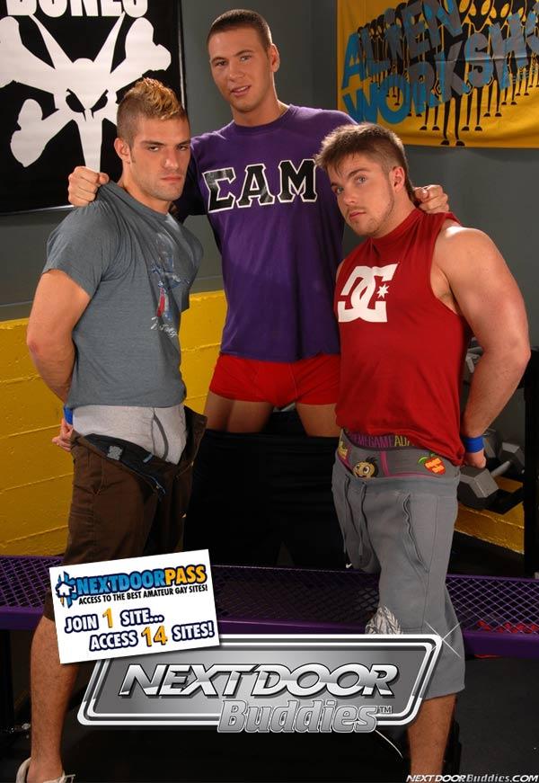 Sweet Fucking Revenge (Jay Cloud, Adam Wirthmore & Marko Lebeau) at Next Door Buddies