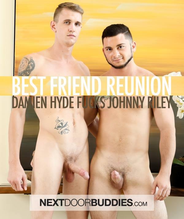 Best Friend Reunion (Damien Hyde Fucks Johnny Riley) at Next Door Buddies