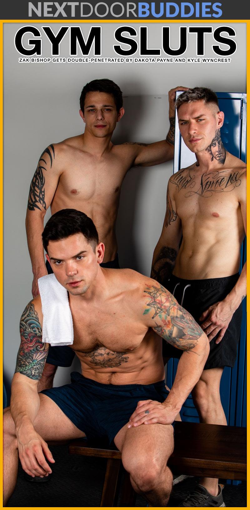 Gym Sluts - Zak Bishop, Dakota Payne and Kyle Wyncrest Cover