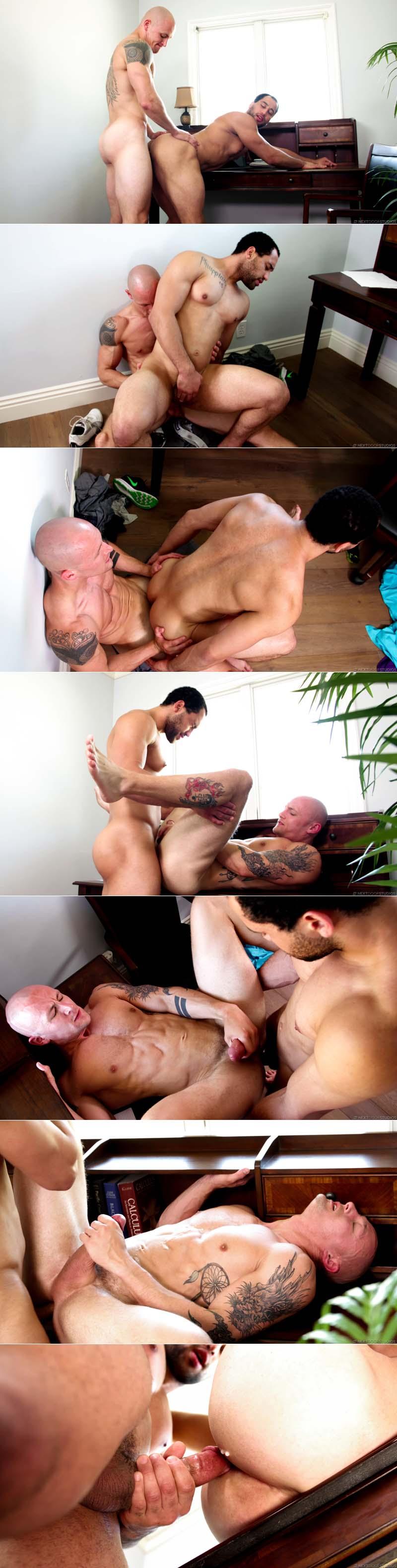 Sneaking Around (Trevor Laster and David Rose Flip-Fuck) (Bareback) at Next Door Buddies