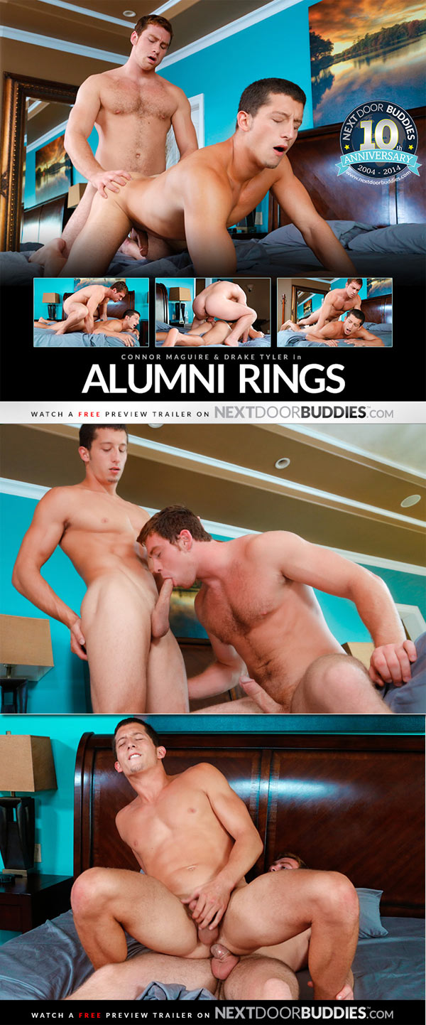 Alumni Rings (Connor Maguire & Drake Tyler) at Next Door Buddies