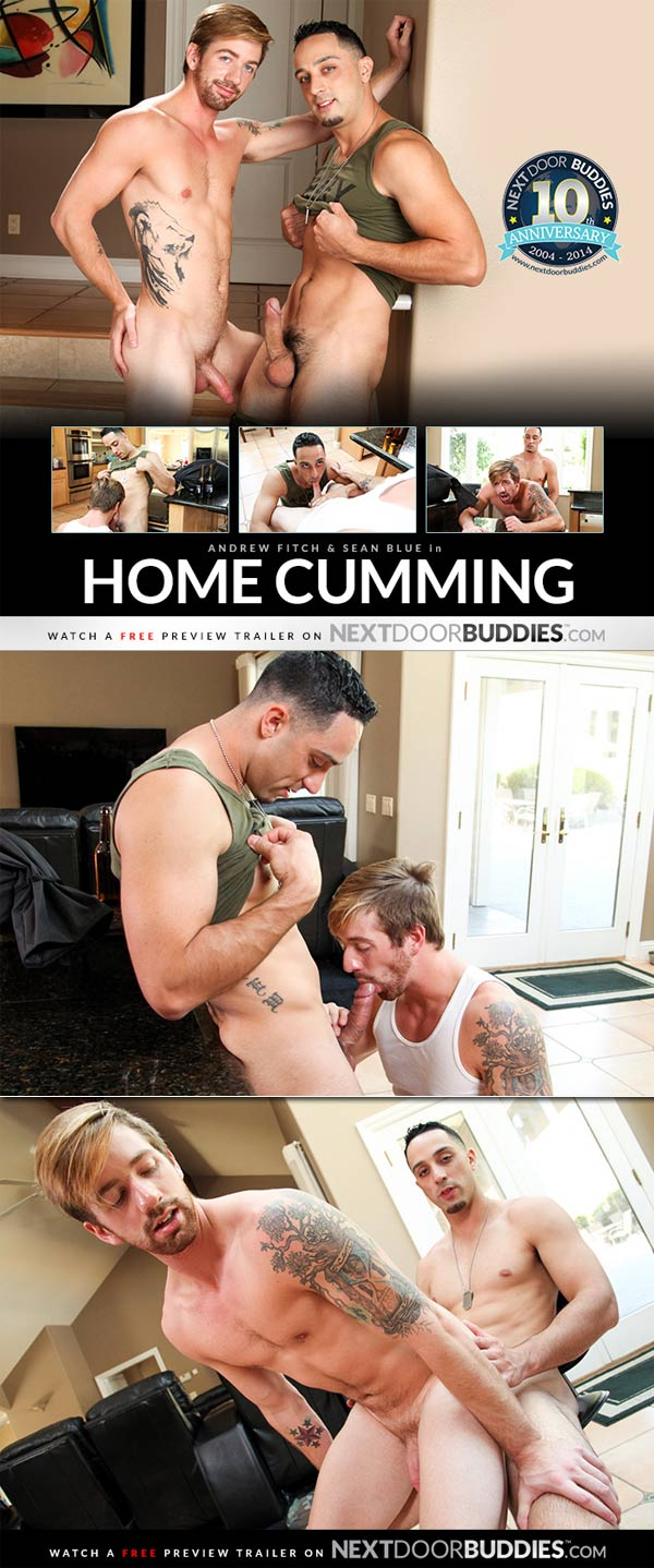 Home Cumming (Andrew Fitch & Sean Blue) at Next Door Buddies