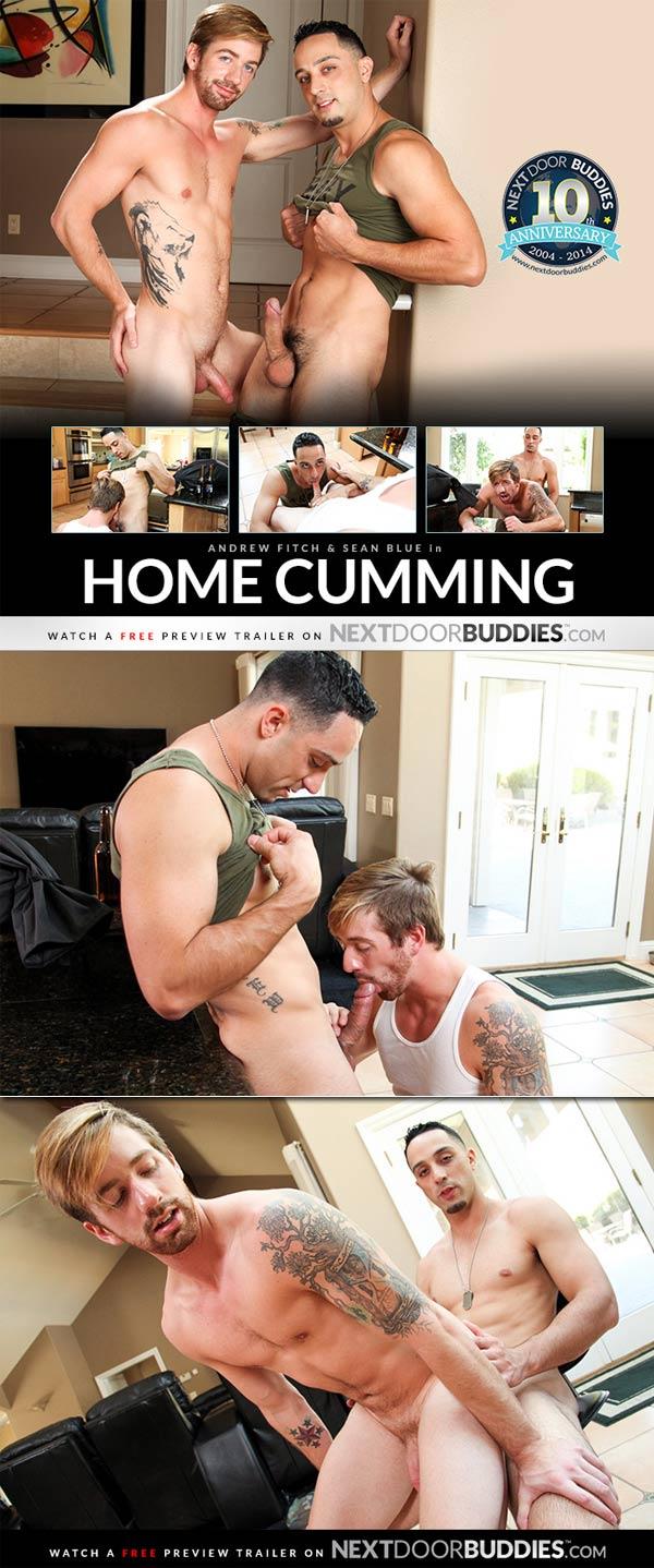 Home Cumming (Andrew Fitch & Sean Blue) at Next Door Buddies