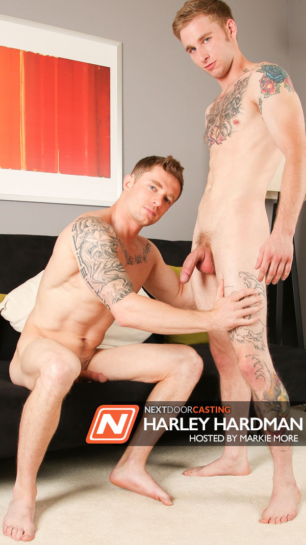 Harley Hardman (Hosted by Markie More) at Next Door Casting