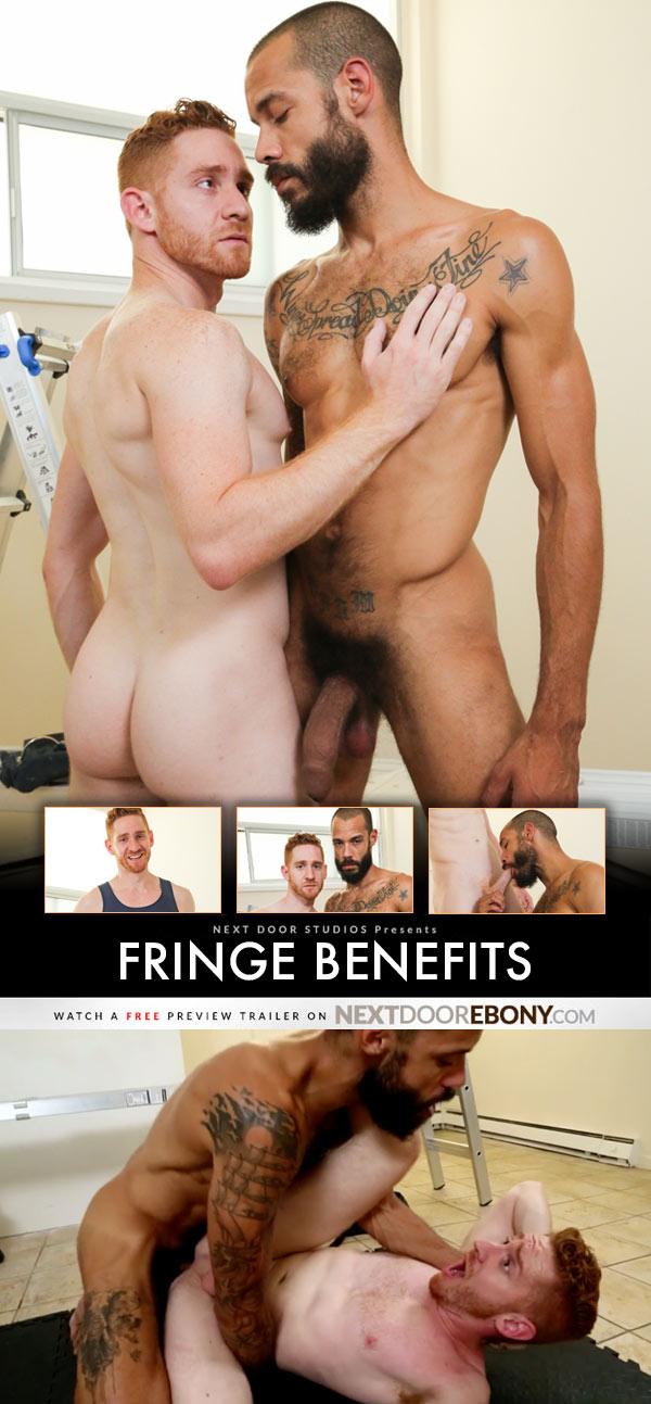 Fringe Benefits (Dylan Henri Fucks Leander) at NextDoorEbony