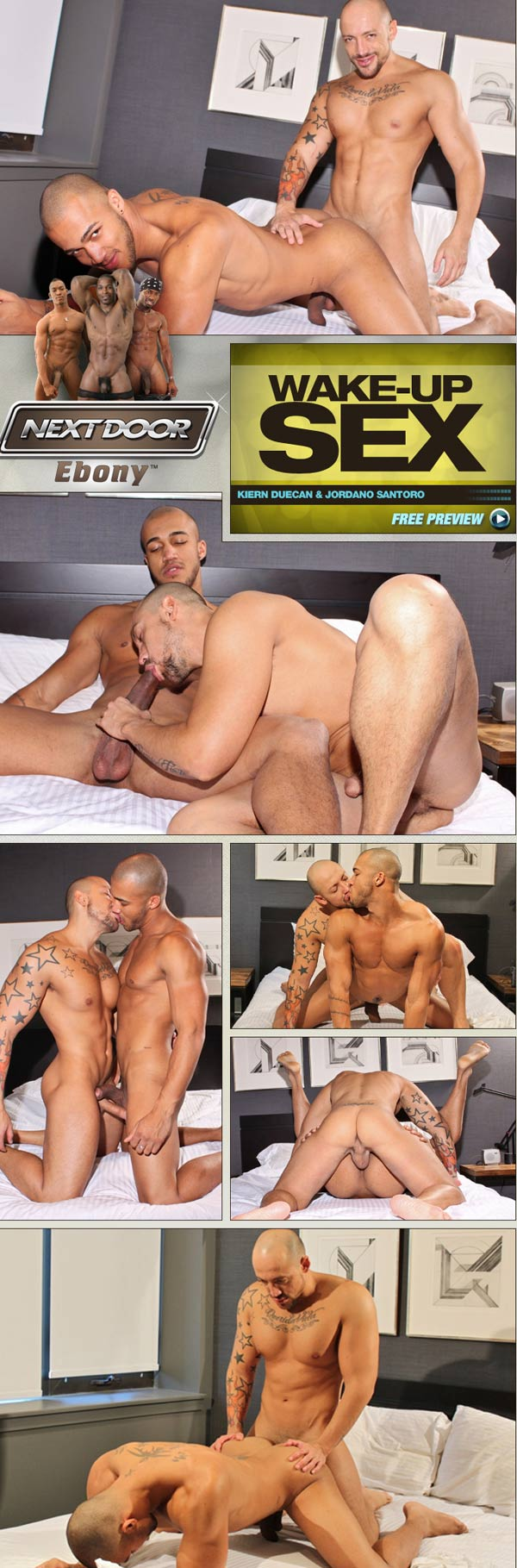 Wake-Up Sex (Kiern Duecan & Jordano Santoro) at NextDoorEbony