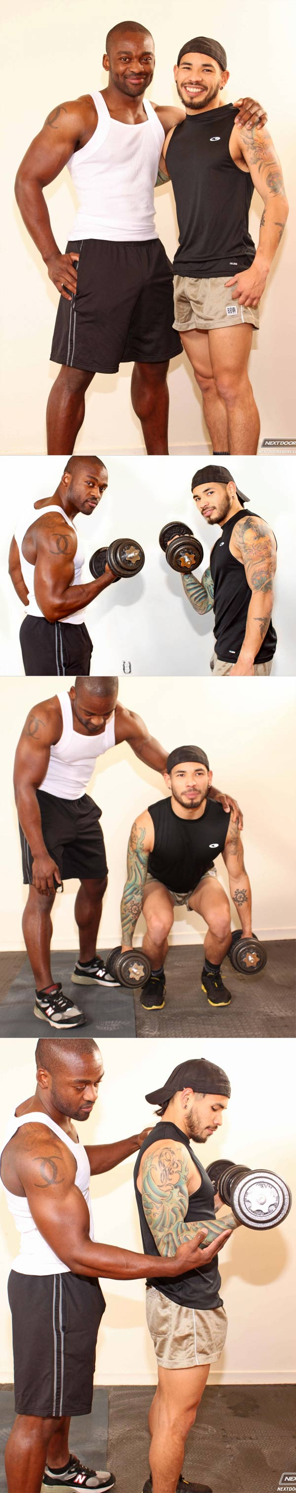 Trained and Banged (Derek Reynolds & Draven Torres) at NextDoorEbony
