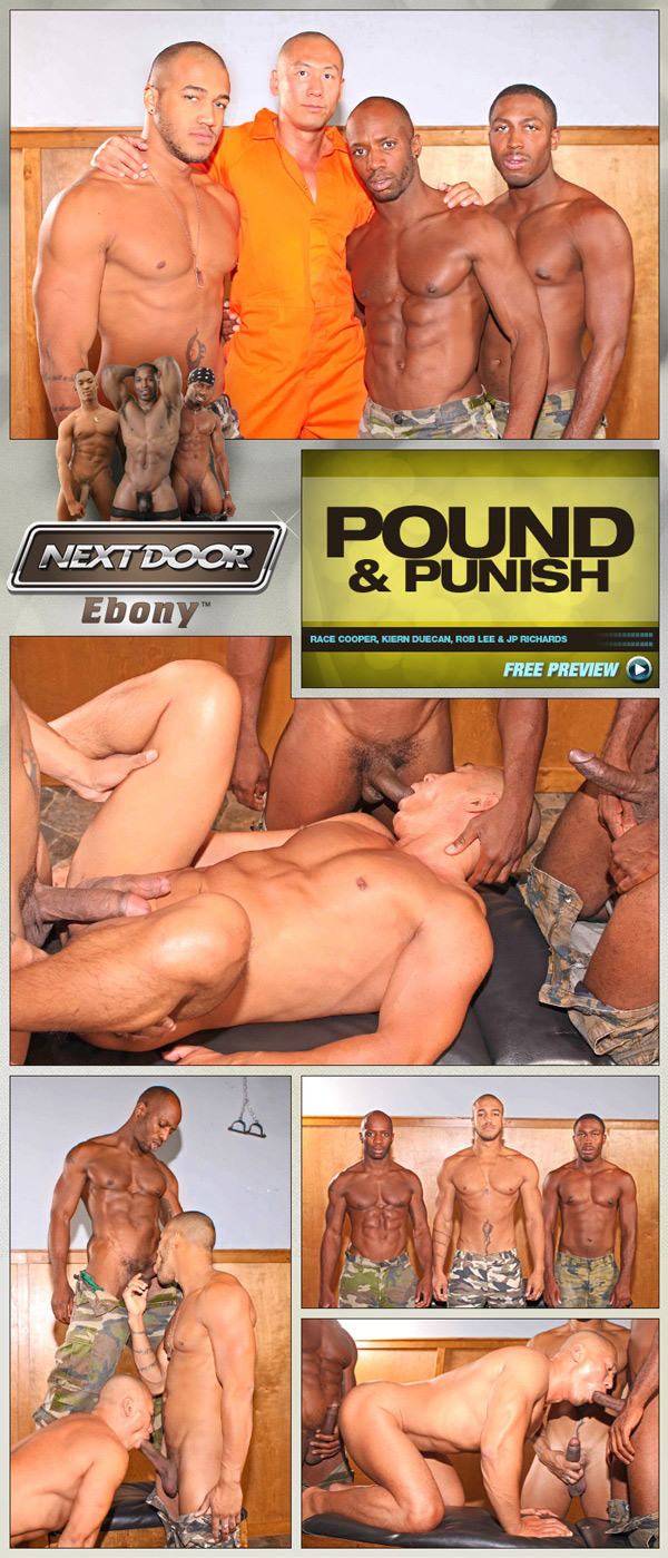 Pound & Punish (Race Cooper, Kiern Duecan, Rob Lee & JP Richards) at NextDoorEbony