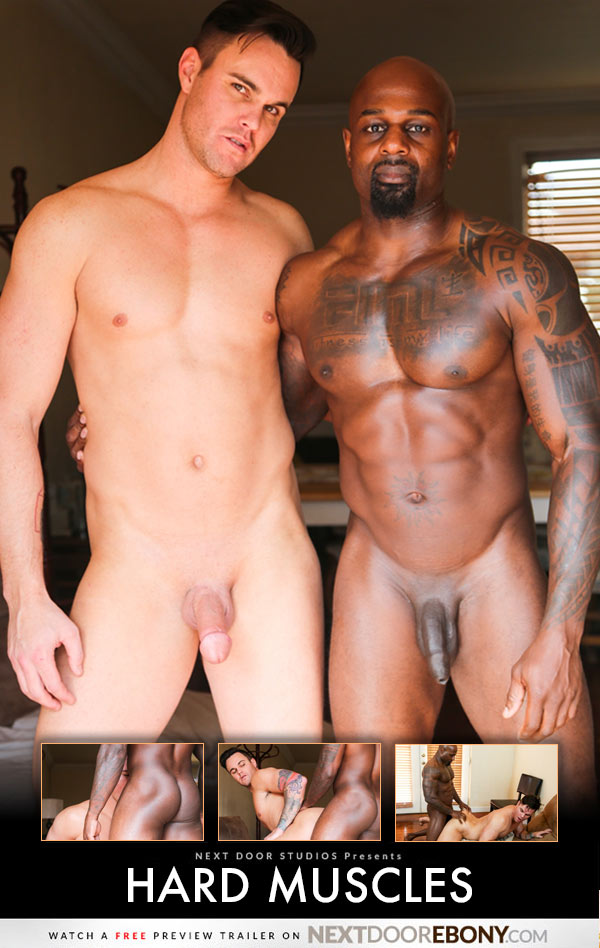 Hard Muscles (Darion Fucks Beau Reed) at NextDoorEbony