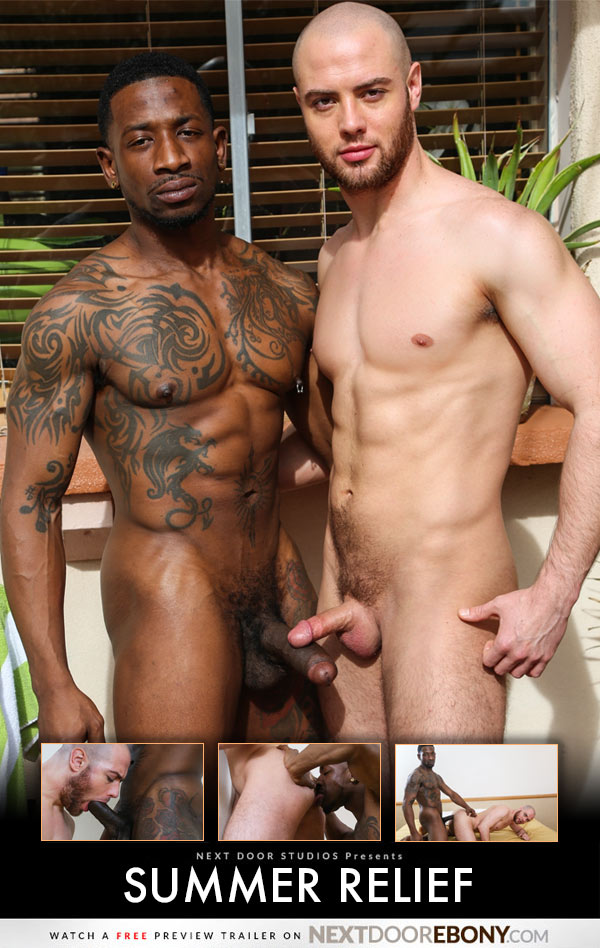 Summer Relief (Rio B Fucks Brendan Phillips) at NextDoorEbony