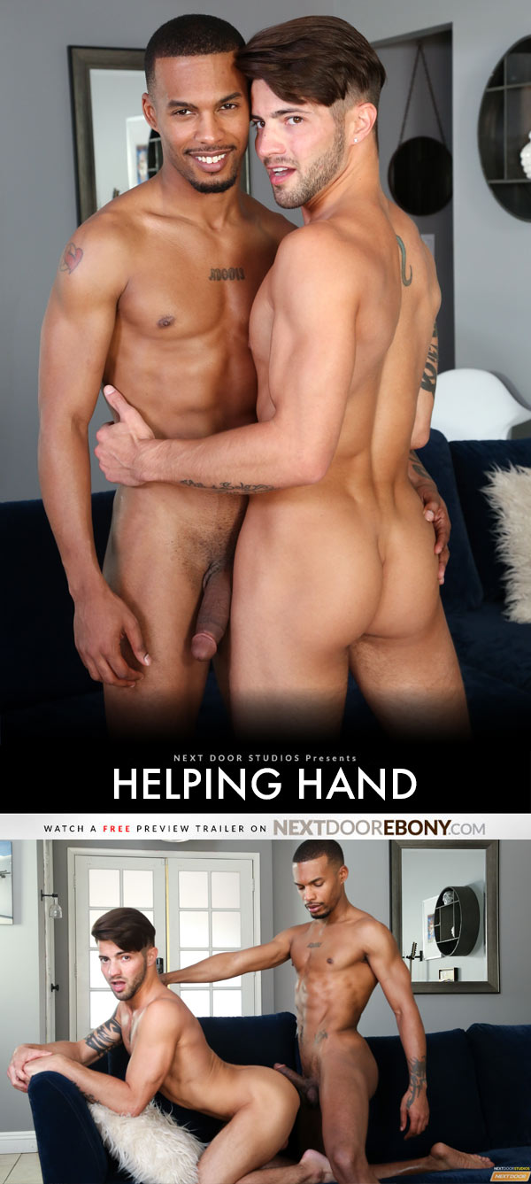 Helping Hand (Jacen Zhu Fucks Casey Everett) at NextDoorEbony